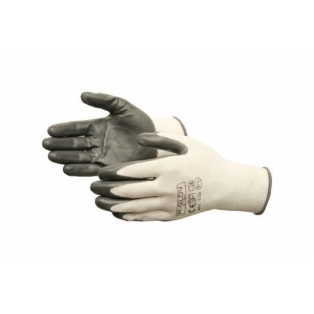 Rekawice robocze powlekane nitrylem /240 par/