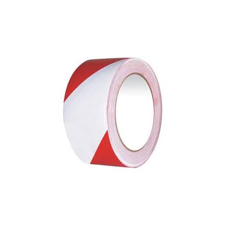 Taśma ostrzegawcza czerwono-biała  50mm x 25 m /1 rolka/