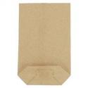Torba papierowa krzyżowa brązowa 2 kg / A'10 kg