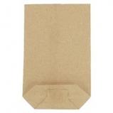 Torba papierowa krzyżowa brązowa 1 kg / A'10 kg