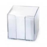 Pojemnik biurowy plastikowy z karteczkami /700 szt/