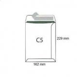 Koperty biurowa C 5 HK /162x229/- białe  50 szt.