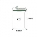 Koperty biurowa C 5 SK /162x229/- białe  50 szt.
