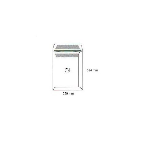Koperty biurowa C 4 HK /229x324/- białe 250 szt.
