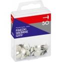 Pinezki GRAND 50 srebrne T4
