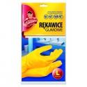 AZ Rękawice gumowe rozmiar M